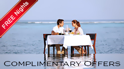 Maldives Complimentary Offers