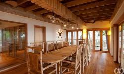Soneva Fushi Jungle Reserve Dining Room